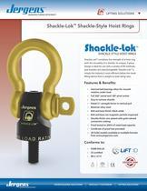 Shackle-Lok Hoist Ring