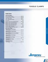 Toggle Clamps Catalog
