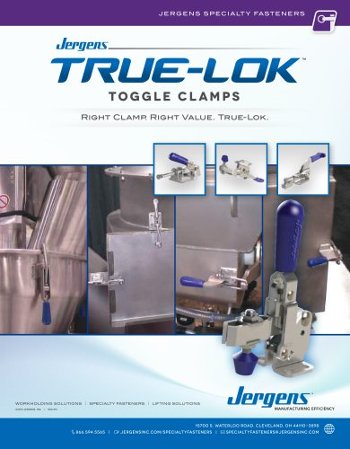 True-Lok™ Toggle Clamps Catalog