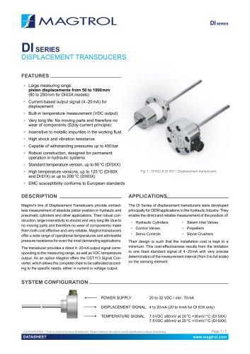 DI Series | Displacement transducers