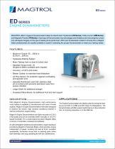 ED Series   Engine Dynamometers