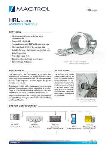 HRL Series - Anchor Load Cell