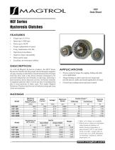 Hysteresis Clutches HCF Series