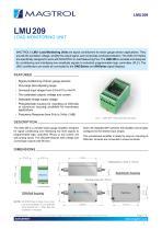 LMU 209   Load Monitoring Unit