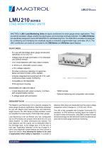 LMU 210 Series | Load Monitoring Units