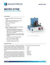 Micro Dyne Test System for Mini/Micro Motors