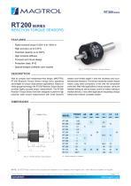 RT 200 Series   Reaction Torque Sensor