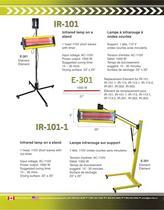 Infrared Lamp Catalog - 5