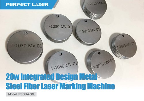 20w Integrated Design Metal Steel Fiber Laser Marking Machine