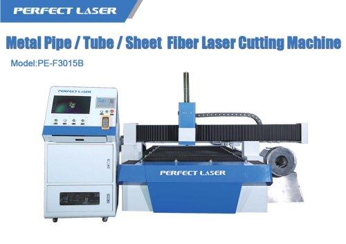 Metal Pipe/Tube/Sheet Fiber Laser Cutting Machine