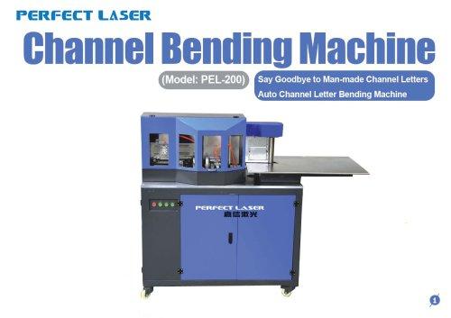 Perfect Laser - Channel Letter Bending Machine PEL-200