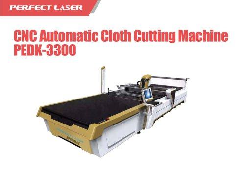 Perfect Laser - CNC Automatic Cloth Cutting Machine PEDK-3300