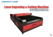 Perfect Laser CO2 laser engraving and cutting machine PEDK-130250