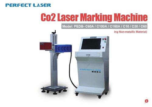 Perfect Laser - Co2 Laser Marking Machine PEDB-C60A C100A C150A C10 C30 C60