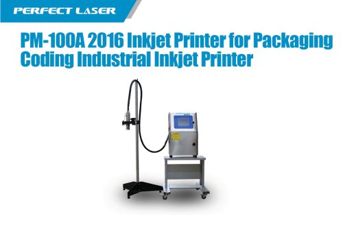 Perfect Laser - Inkjet Printer PM-100A For Packaging Coding Industrial