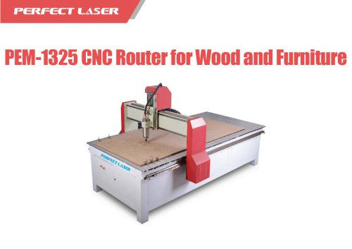 Perfect Laser - Large Scale Furniture Outdoor Multi Spindle CNC Router PEM-1325