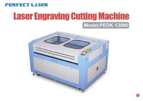 Perfect Laser - PEDK13090 Laser engraver Cutter in Wood Acrylic