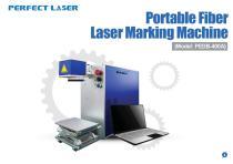 Perfect Laser - Portable Fiber Laser Marking Machine PEDB-400A