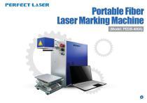 Perfect Laser-Portable Fiber Laser Marking Machine PEDB-400A