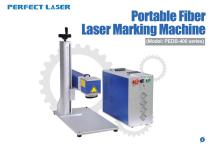Perfect Laser-Portable Fiber Laser Marking Machine PEDB-400B