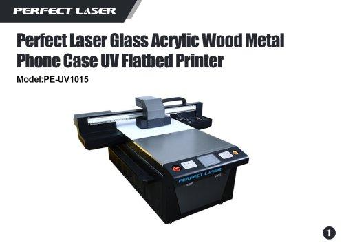 Perfect Laser- UV Flatbed Printer-PE-UV1015