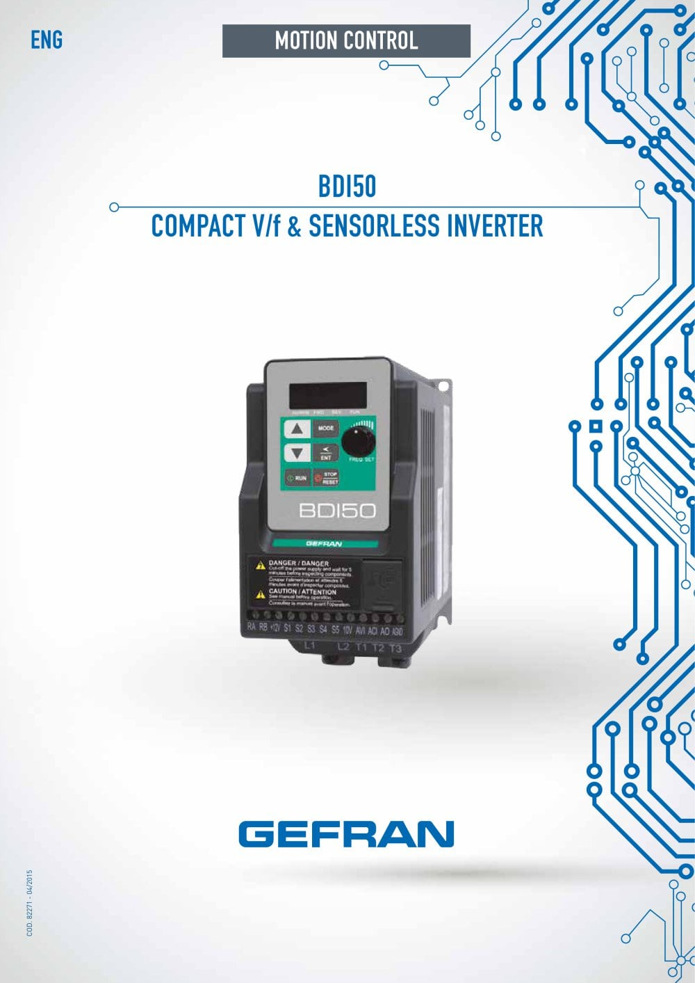 Solid State Relay Gefran Bdi50 Compact V F Sensorless Inverter Pdf Catalogs 1 12 Pages