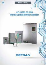 LIFT CONTROL SOLUTION INVERTER AND REGENERATIVE TECHNOLOGY
