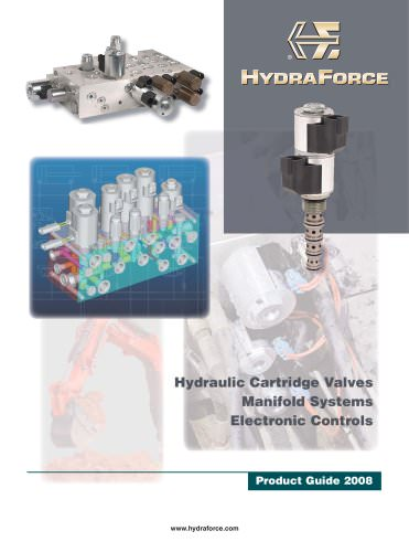 Hydraulic Cartridge Valves, Manifold Systems, Electronic Controls