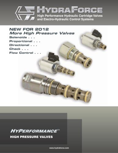 HyPerformance High Pressure Valves Brochure