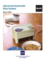 TR250 Portable Electric Rice Husker - Advanced
