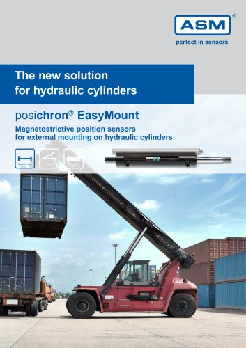 posichron® EasyMount - The new solution for hydraulic cylinders