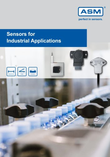 Sensors for Industrial Applications