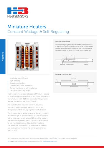 Miniature Heaters