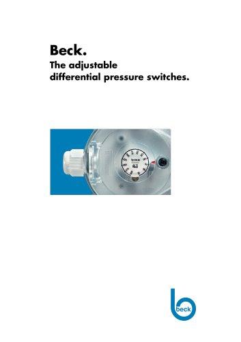930 Diff Pressure Switch Air