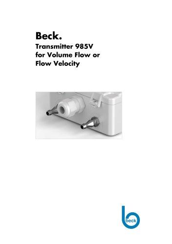 985V Air Volume Transmitter