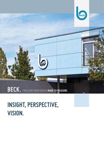 Beck Company Brochure Steinenbronn
