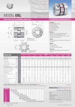 Elastomer Couplings EK - 6