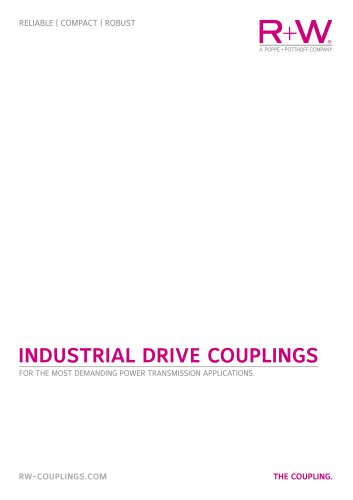 Industrial drive couplings