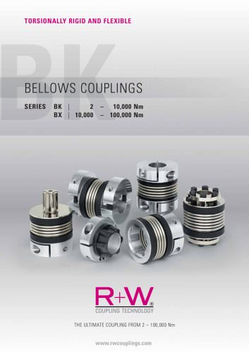 Metal Bellows Couplings BK