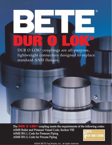 DUR O LOK® - BETE - PDF Catalogs | Technical Documentation