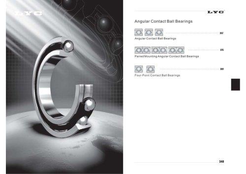 Angular Contact Ball Bearings
