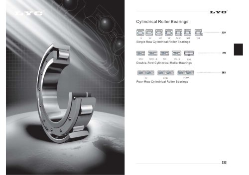 LYC Cylindrical Roller Bearings