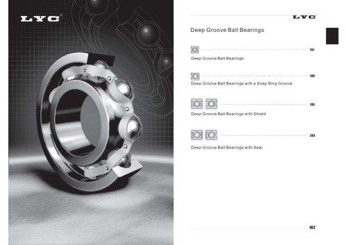 LYC Deep groove ball bearings