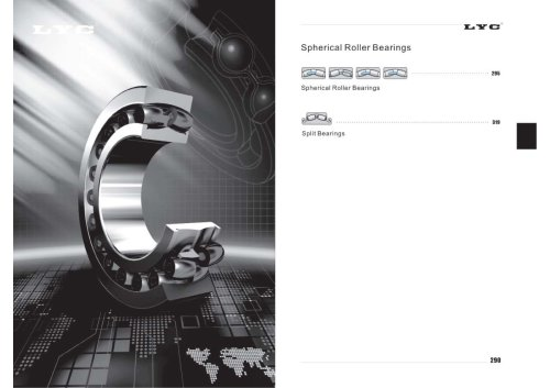 LYC Spherical Roller Bearings