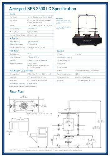 Aerospect SPS 2500 LC