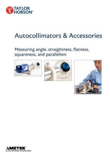 Autocollimators & Accessories