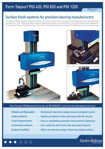 Form Talysurf PGI PGI 420/820/1220