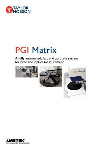 PGI  Matrix