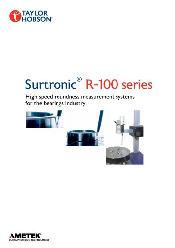 Surtronic ® R-100 series