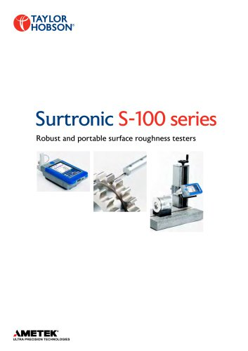 Surtronic  S-100 series